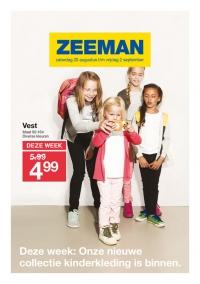 Aanbiedingen bij Zeeman
