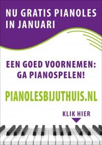 Goede voornemens? Ga pianospelen, nu kosteloos in januari!