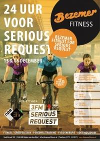 Bezemer Fitness in actie voor 3FM Serious Request