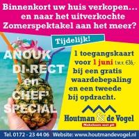 Tijdelijke actie Houtman & De Vogel