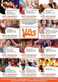 100% dansplezier bij De Vos Danscentrum!