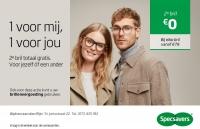 Tweede bril voor maar 0 euro!