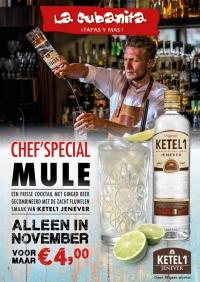 Chef'Special Mule bij La Cubanita!