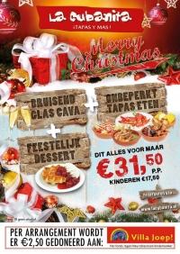 Reserveer het kerstmenu bij La Cubanita én draag bij aan het goede doel!