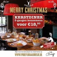 Kerstdiner voor 18,50 euro