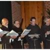 Wijding Franciscusklok bij Middeleeuws klooster Archeon