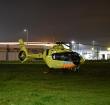 Traumahelikopter voor medische noodsituatie Zambiapark