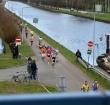 Atlete Maureen Koster gaat hazen bij 20 van Alphen