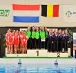 Alphense Vivienne Nederlands Kampioen synchroonzwemmen