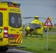 Traumahelikopter ingezet voor incident op s Molenaarsbrug