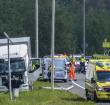 Eenzijdig ongeval met vrachtwagen N11