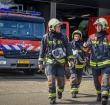 Raadsleden bezoeken Alphense brandweerkazerne