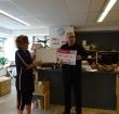 Cheque MijnTafel voor Alphense kinderboerderijen