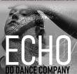 Dansers dansen voorstelling ECHO in de Adventskerk