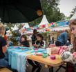 Kids activiteiten bij Junis op het Zomerspektakel
