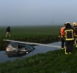 Auto te water N11 richting Bodegraven