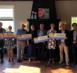Rotaryclub Alphen-Woubrugge deelt cheques uit