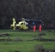 Traumahelikopter naar manege voor val van paard