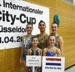 Maaike van Leeuwen wint goud in Düsseldorf