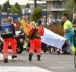 Traumahelikopter naar ongeval op Prins Bernhardlaan