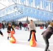 Schaatsen in Archeon tijdens Vier de Winter