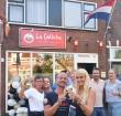 Feestje bij La Calèche tijdens onthulling nieuw logo