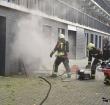Verdieping flat Plutostraat ontruimd vanwege brand