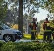Kop-staartbotsing tussen autos zorgt voor files N207