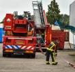 Brandweer in actie voor brand in loods Industrieweg