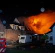 Gezin gered bij uitslaande woningbrand op de Hoogewaard