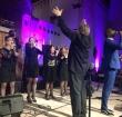 Dwight Dissels zingt bij gospelconcert in Adventskerk