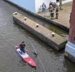 Mast van zeilboot gevonden in Oude Rijn