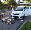 Fietsers aangereden door auto op Noorderkeerkring
