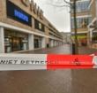 Winkelcentra in Alphen deels afgesloten door storm