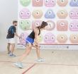 Interactieve squashbaan geopend bij Nieuwe Sloot