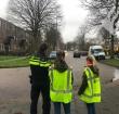Leerlingen t Spectrum actief tegen parkeeroverlast