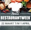 Alphens Restaurantweek van 22 maart t/m 1 april