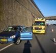 N11 afgesloten na eenzijdig ongeval