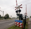 Werkzaamheden spoorwegovergang Leidse Schouw