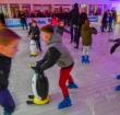 Nog één dag schaatsen op ijsbaan op het Rijnplein