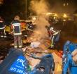 Meerdere containers in brand gestoken in Alphen