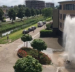 Waterleiding gesprongen in Kerk en Zanen