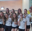 AZC-synchroonzwemsters succesvol in Luxemburg