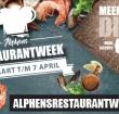 Reserveringen Alphens Restaurantweek vanaf morgen geopend!