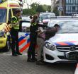 Traumahelikopters en arrestatie in Diamantstraat
