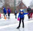 Eerste schaatswedstrijd sinds zes jaar in Koudekerk