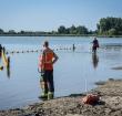 Alphense duikploeg zoekt drenkeling in Reeuwijk