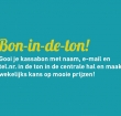 Bon in de Ton-actie bij winkelcentrum De Baronie