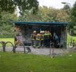 Jongen zwaargewond door explosie in Weteringpark