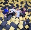Studenten springen voor Prinses Beatrix Spierfonds